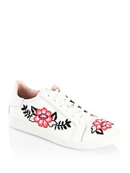 Kate Spade Everhart Leather Sneakers White