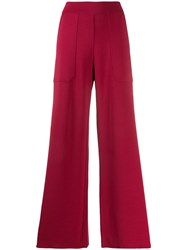 Mrz Pull On Trousers Red