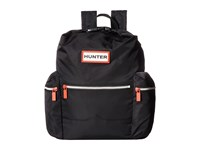 Hunter Original Mini Top Clip Nylon Backpack Black Backpack Bags