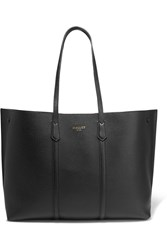 Mallet And Co Laurie Textured Leather Tote Black