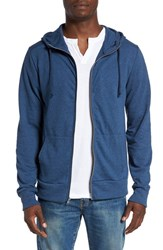Alternative Apparel Men's 'Rocky' Mock Neck Zip Hoodie