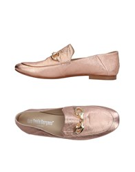 Les Trois Garcons Loafers Pink