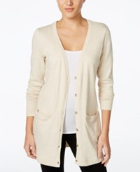 G.H. Bass And Co. Duster Cardigan Heather Parchment