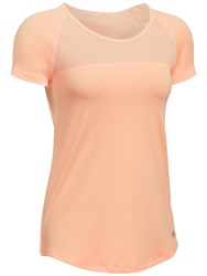 Under Armour Fly By Running T Shirt Peach