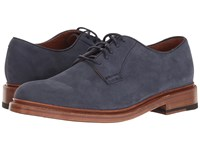 Frye Jones Oxford Indigo Soft Italian Nubuck Men's Shoes Navy