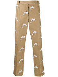 Thom Browne Dolphin Half Drop Chino Trousers 60