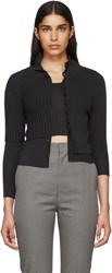 Beautiful People Black Double Layer Cardigan