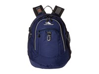 High Sierra Fat Boy Backpack True Navy Mercury Backpack Bags Blue