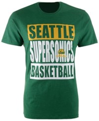 47 Brand '47 Men's Seattle Supersonics Compton Club T Shirt Kelly Green
