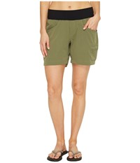 Stonewear Designs Dynamic Shorts Cargo Green Women's Shorts