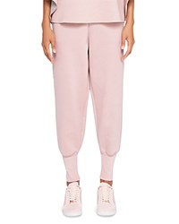 Ted Baker Says Relax Radonna Jersey Jogger Pants Dusky Pink