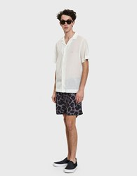 Saturdays Surf Nyc Timothy Water Floral Short In Midnight