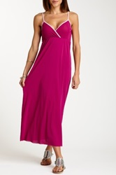Sweet Pea Strappy Maxi Dress Pink