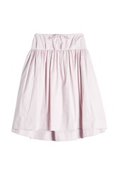 Jil Sander Navy Cotton Skirt