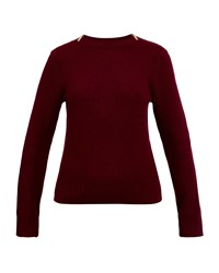 Ted Baker Rosiea Textured Cashmere Blend Jumper Red