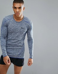 Craft Sportswear Active Comfort Running Knitted Long Sleeve Top In Blue 1903716 2392