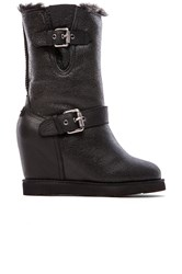 Australia Luxe Collective Machina Wedge Boot Black