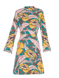 Marni Bellewoods Print Crepe Dress