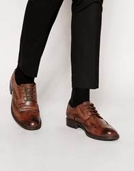 Frank Wright Leather Brogues Brown