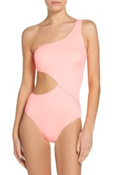 Solid And Striped Women's Claudia One Piece Swimsuit Coral