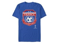 Fifth Sun France World Cup Champions T Shirt Blue