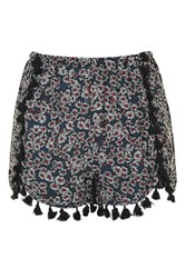 Wyldr Vita Daisy Print Shorts By Multi