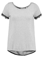 Naf Naf Mitouzi Print Tshirt Light Gris Chine Mottled Light Grey