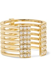 Melissa Kaye Izzy 18 Karat Gold Diamond Ring Usd