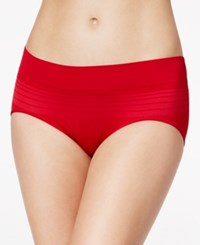 Warner's No Pinches No Problems Striped Hipster Ru0501p Crimson Red