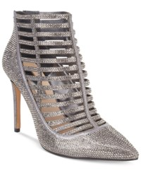 Inc International Concepts Women's Kacela Caged Pumps Only At Macy's Women's Shoes Pewter