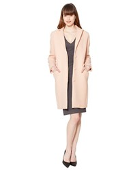 Raoul Wool Classic Tailored Coat Pink