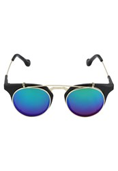 Jeepers Peepers Sunglasses Black Blue Revo
