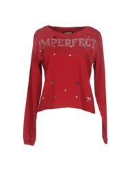 Merfect M Erfect Sweatshirts Red