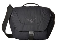 Osprey Flapjack Courier Black Bags