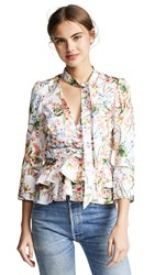 Hellessy Stargazing Top Floral