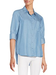 Saks Fifth Avenue Red Aiden Chambray Shirt F17 River