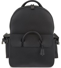 Buscemi Phd Leather Backpack Bosco Black