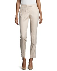 Kaufman Franco Compact Cotton Skinny Pants Dune