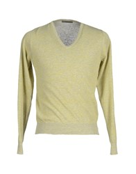 Become Knitwear Jumpers Men Yellow