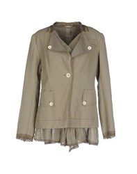 High Suits And Jackets Blazers Women Military Green