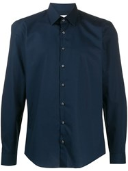 Calvin Klein Button Up Shirt Blue