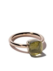 Pomellato 18Kt Rose And White Small Nudo Lemon Quartz Ring Unavailable