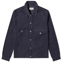 Ymc Pinkley Check Cord Jacket Blue