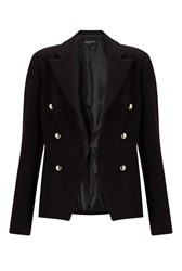 James Lakeland Silver Button Jacket Black