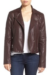 Levi's Faux Leather Moto Jacket Red