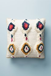 Anthropologie Tufted Ayla Pillow Ivory