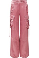 Sies Marjan Sammie Satin Wide Leg Pants Antique Rose