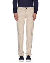 Armani Collezioni Denim Denim Trousers Men Beige