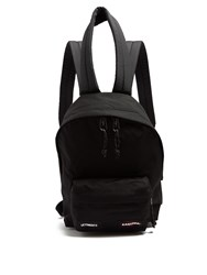 Vetements X Eastpak Mini Padded Backpack Black