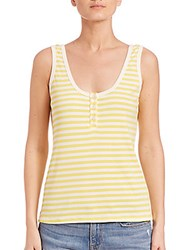 Frame Le Henley Tank Canary Yellow